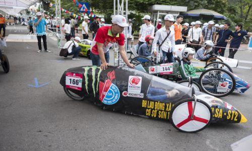 Sinh viên ĐH Công nghiệp chiến thắng tại cuộc thi xe tự chế tiết kiệm nhiên liệu